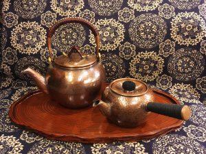 銅製湯沸し / 銅製急須