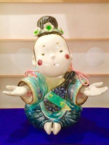 京焼  『おいで人形』