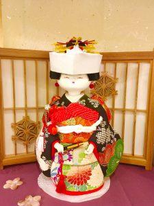 木目込み人形  『花嫁さん』