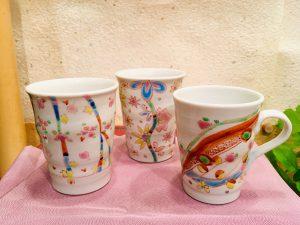 九谷焼  フリーカップ  /   マグカップ
