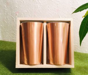 銅製ペアグラス