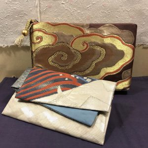 帯地バッグ『紗織』『小袖』