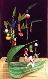 七夕 『笹飾り』『笹舟飾り』