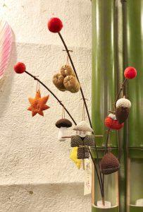 しだれ飾り『秋三昧』