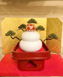 鍋島焼 迎春飾り『鏡餅』